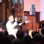 Jean Claude Borelly et sa trompette d'Or (c) Association Culturelle de St Amans