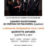 Concert exceptionnel au Château de Malvignol (c) Association des Amis du Château de Malvignol