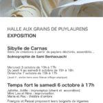 Exposition Sibylle de Carnas (c) associations Agir au Pays & Hang'art
