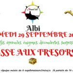 Jeu de chasse aux trésors/rallye (c) Association Les Trouvetout
