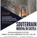 Journées du Patrimoine au Castela (c) Office de tourisme intercommunal Tarn-Agout