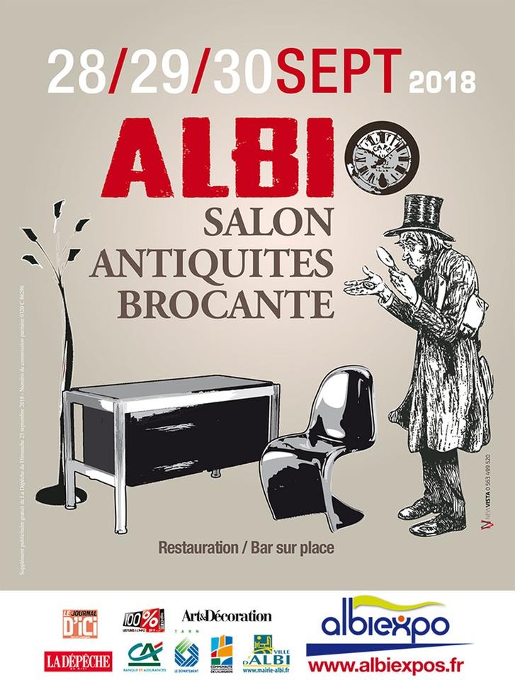 Albi salon antiquit s brocante 2018 dans ton tarn - Salon antiquites brocante ...