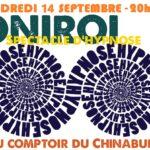 Spectacle d'hypnose (c) Café associatif Au Comptoir du Chinabulle