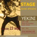 Stage de danse africaine (c) Association EBENBAO