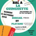 Bal A La (petite) Guinguette de Salvagnac (c) Association KARAVANE Régine Claréty / 06 66 5