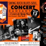 Concert the Juice : swing rock blues soul (c) Stiletto et Bluztrack