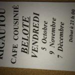 Concours de belote (c) Café Cousinié