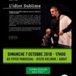 Contes en balade - L'idiot Sublime (c) Communauté des Communes du Lautrecois-Pays d'