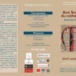 Journées d'études Aux sources du Catharisme (c) Musée du catharisme et Centre des Monuments N