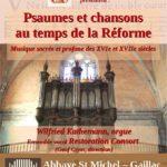 Psaumes et chansons au temps de la Réforme (c) Les Amis des orgues de Gaillac