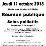 Réunion publique Soins palliatifs (c) Chrétiens en Monde Rural de PUYLAURENS