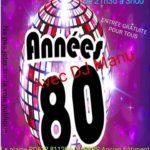 Soirée années 80 à nos jours (c) club 80