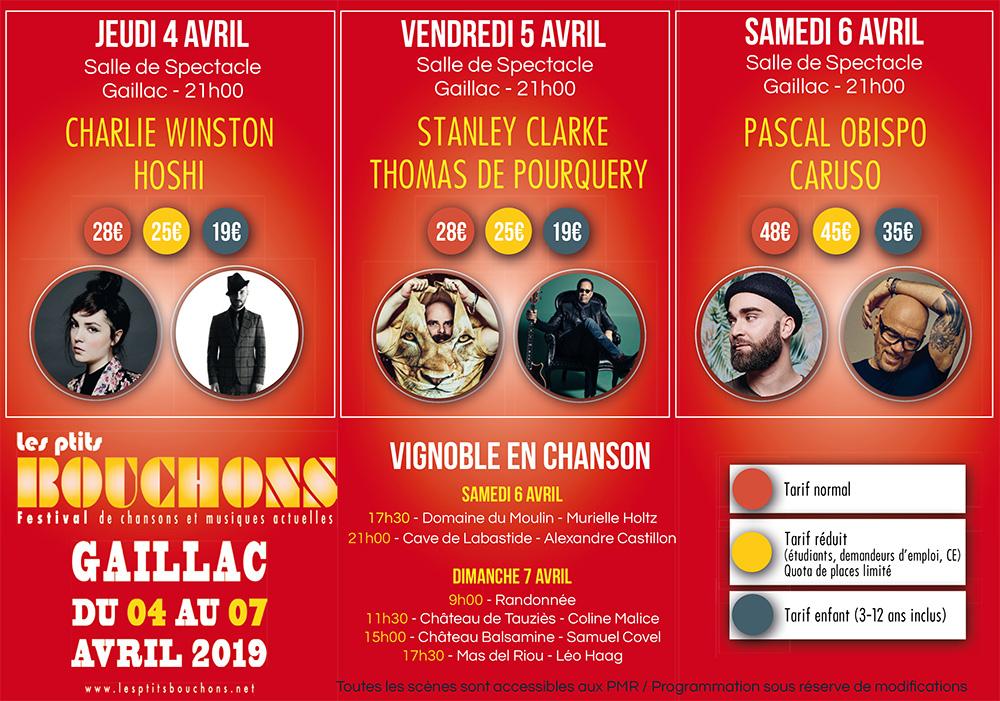 Festival Les Ptits Bouchons 2019, les tarifs / © DR
