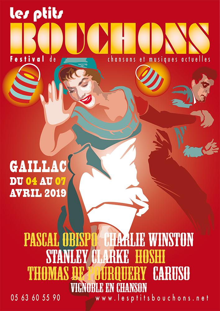 Festival Les Ptits Bouchons 2019, l'affiche / © DR