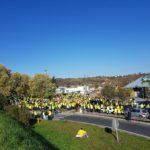 Manifestation du 17 novembre 2018, les Les Gilets Jaunes à Albi, Jardinerie Tarnaise / © Marcel Ludwig - Facebook