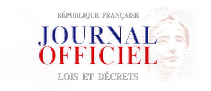 Journal Officiel, lois et décrets