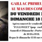 Apero concert au mas des combes (c) Rémi Larroque, domaine MAS DES COMBES à Gaill