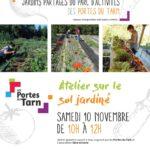 Atelier gratuit aux jardins partagés (c) Les Portes du Tarn et l'association Sève et T