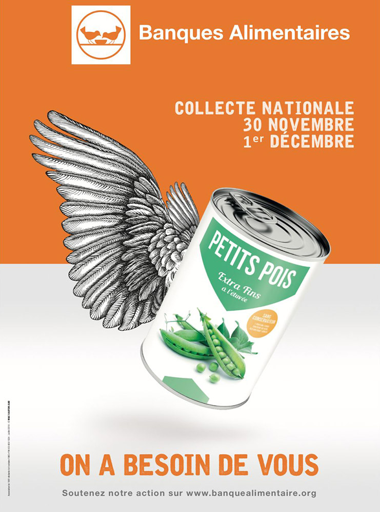 Banque alimentaire, collet 2018