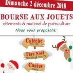 Bourse aux jouets, animations de Noël (c) association La Passerelle
