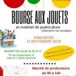 Bourse aux jouets et matériel de puériculture (c) Association St Jean Valoise