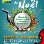Concert de Noël (c) Conservatoire de Musique et de Danse du Tarn