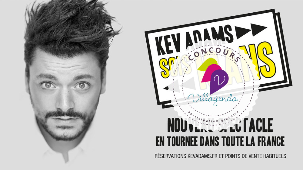 Concours Kev Adams / Bleu Citron