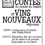 Contes et vins nouveaux (c) Foyer Rural de MArzens
