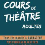Cours de theatre adultes (c) Association CHUT DANS LA SALLE !