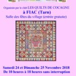 Exposition de Patchwork (c) Quilts de Cocagne