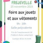 Foire aux jouets et aux vêtements (c) A.S.C.F de Fréjeville