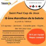 Marathon de la belote au profit du téléthon (c) Les Cocagnous