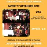 Pièce de théâtre : Le retable du flûtiste (c) Centre Culturel Occitan de l'Albigeois