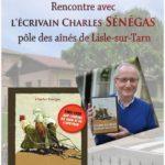 Rencontre avec l'écrivain Charles Senegas (c)