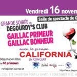 Soirée Gaillac Primeur du Dégourdy's Club (c) Le Dégourdy's Club