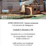 Apéro-dédicaces : Découverte de Madagascar... (c) Association Yucca Editions