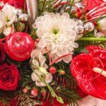 Bouquet de Noël (c) Ricoh Imaging Company