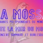 Concert de la Mossa + Toute la mer du monde (c) La Saison