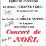 Concert de noël (c) chorale croque notes de lagrave