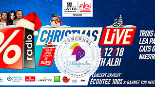 Concours 100% Christmas Live, SN Diffusion / Radio 100%