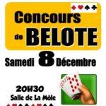 Concours de belote (c) La Môle en fête