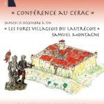 Conférence Les Forts Villageois du Lautrécois (c) Association CERAC
