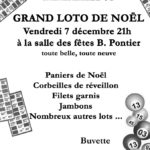 Grand loto de Noël (c) Foyer Rural de Marzens