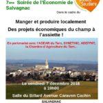 Les projets économiques du champ à l'assiette (c) Citoyens et mairie