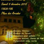 Marché de Noël de Castelnau de Montmiral (c) Familles Rurales du Montmiralais