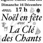 Noël en fête avec la Clé des Chants (c) La Clé des Chants de Lombers