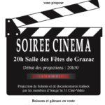 Soirée cinéma à Grazac 81 (c) Comité des Fêtes de Grazac 81