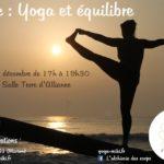 Stage : Yoga et équilibre (c) Marion Le fournier - L'alchimie des Corps