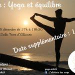 Stage Yoga et Equilibre - Date Suppélemntaire (c) Marion Le fournier - L'alchimie des Corps