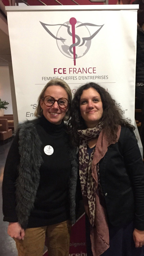 Appoline Chaminade-Meyer et Aurélie Coste / © FCE Tarn
